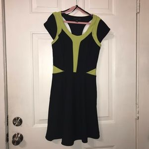 Structured A Line Dress NWOT